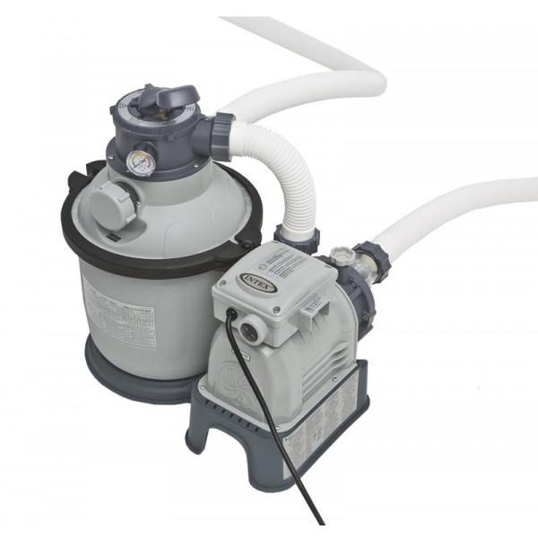 Filtre à sable 4 m³/h - 1/4 CV pour piscine Intex