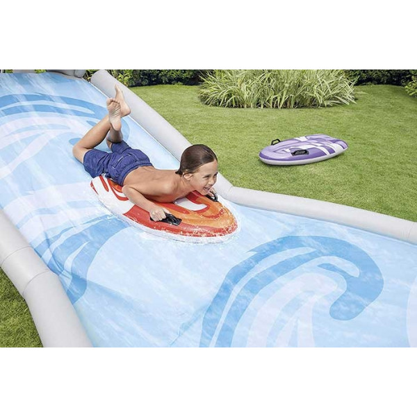 Tapis de glisse Intex Gliss Partt Requin + 2 Body Board