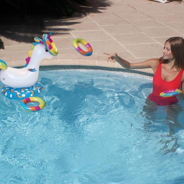 Jeu de lancer Licorne pour piscine Kerlis