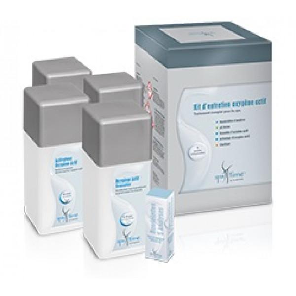 Kit d'entretien oxygène actif spa time - Bayrol