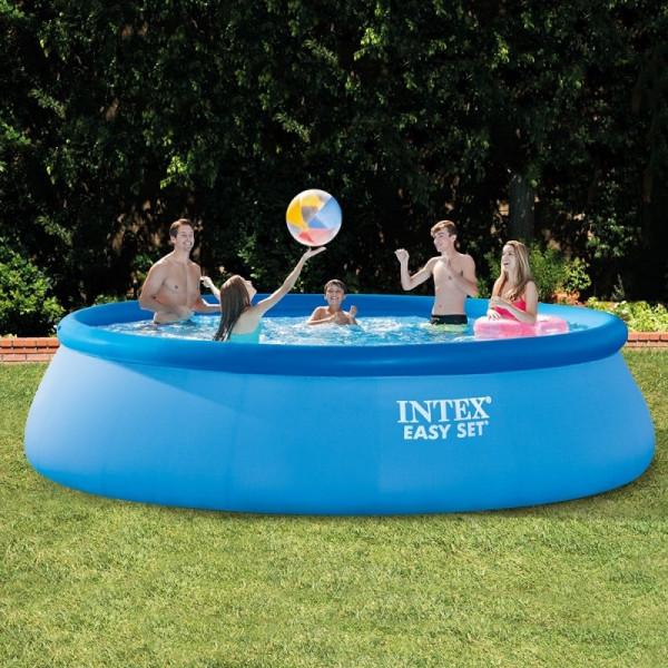 Kit piscine autoport e intex easy set x m for Accessoire piscine 07