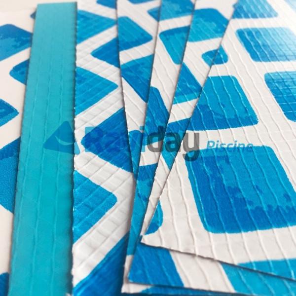 Kit de r paration pour liner de piscine intex 6 couleurs - Kit reparation matelas gonflable intex ...