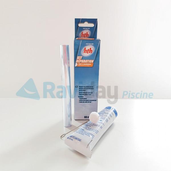 Kit de r paration pour liner de piscine et spa gonflable hth - Kit reparation liner piscine hors sol ...