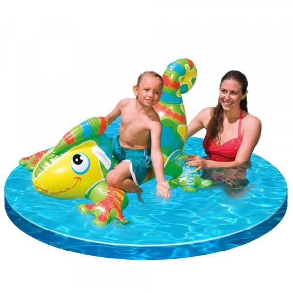 Lézard gonflable pour piscine