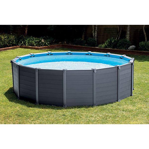 Liner pour piscine Intex Graphite 4,78 x 1,24 m