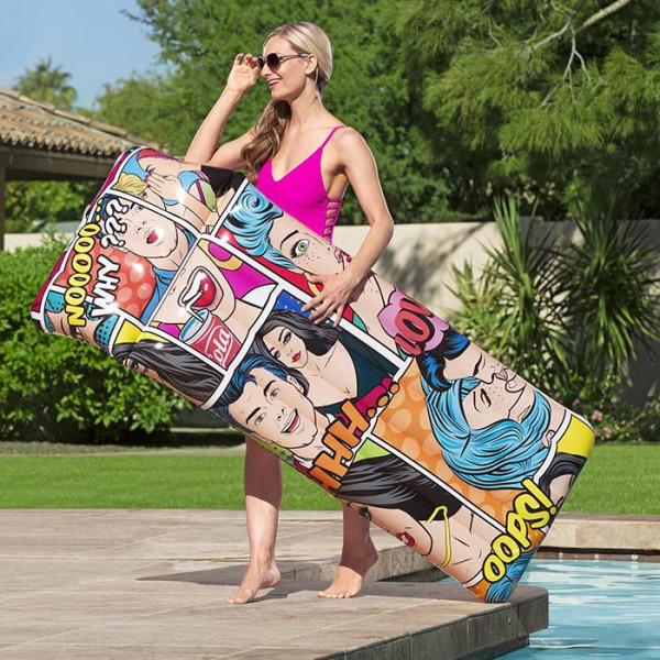 Matelas de piscine Bestway Pop Art