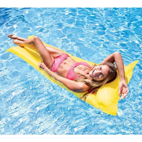 Matelas gonflable de piscine Economat Intex