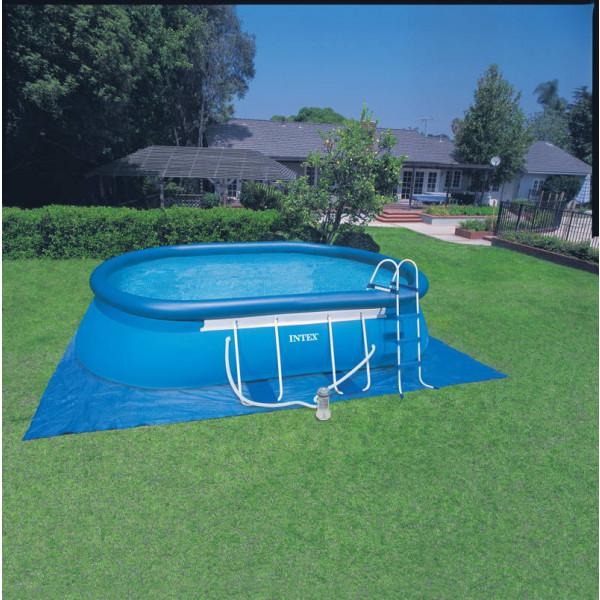 piscine Intex Ellipse 5.49, piscine autoportée