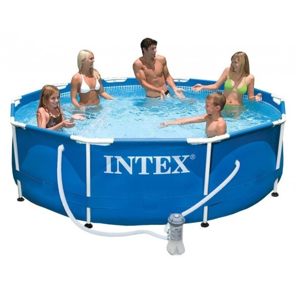 Piscine tubulaire et épurateur Intex MetalFrame 3.05 x 0.76 m