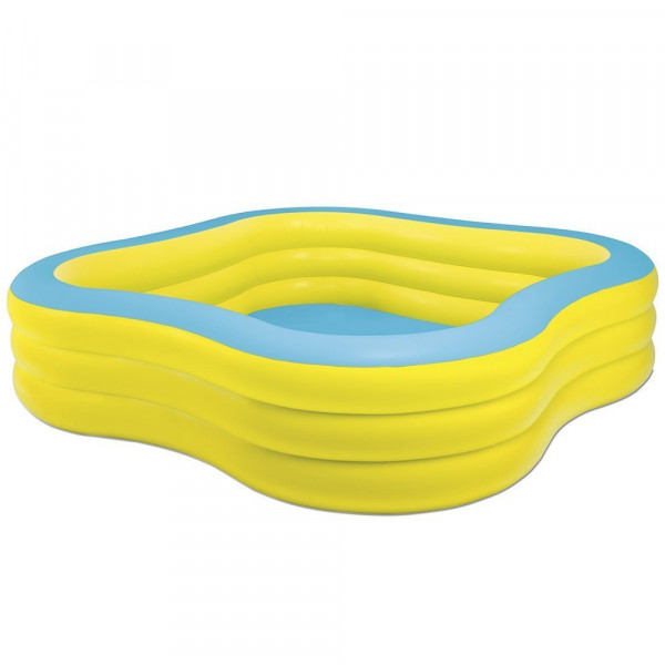 Piscine gonflable carré INTEX Wave 57495