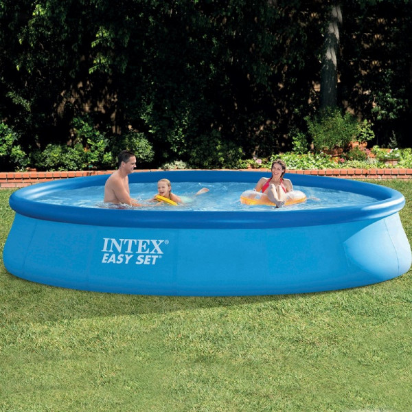 Ambiance Piscine autoportante Intex Easy Set 4,57 x 0,84 m
