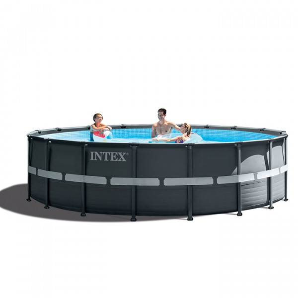 Piscine tubulaire Intex Ultra XTR Frame 4,88 x 1,22 m