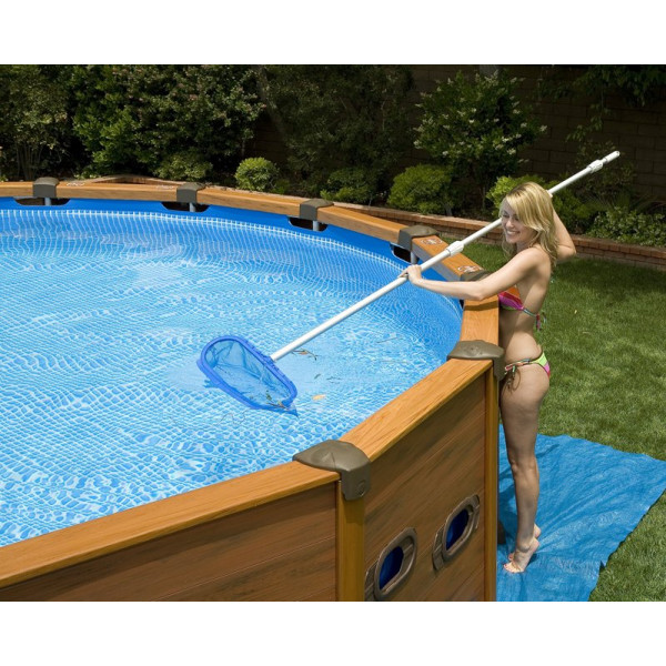 Piscine Intex Sequoia Spirit 5.69 x 1.35 m bois