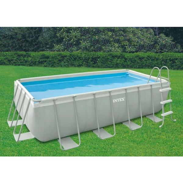 Piscine intex ultra frame 400x200x100 piscine tubulaire 28350fr chez raviday piscine - Entretien piscine hors sol intex ...