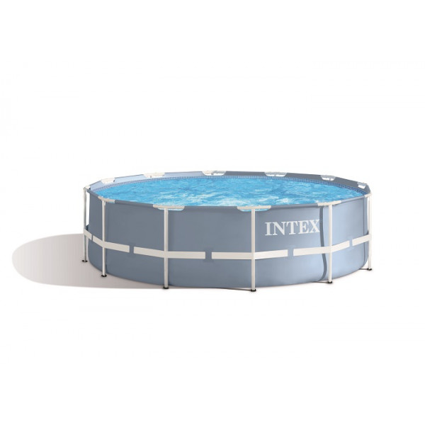Piscine tubulaire ronde Intex Prism Frame 3,66 x 0,99 m
