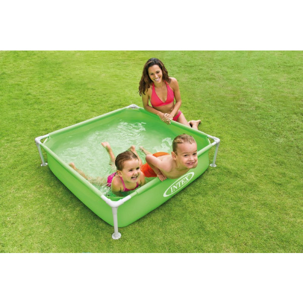 Piscinette Intex Metalframe Junior pour enfant
