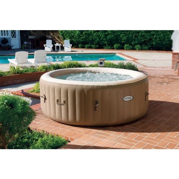Spa gonflable Intex PureSpa Bulles 4 personnes Rond