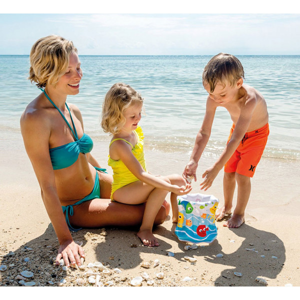 Seau de plage gonflable Intex