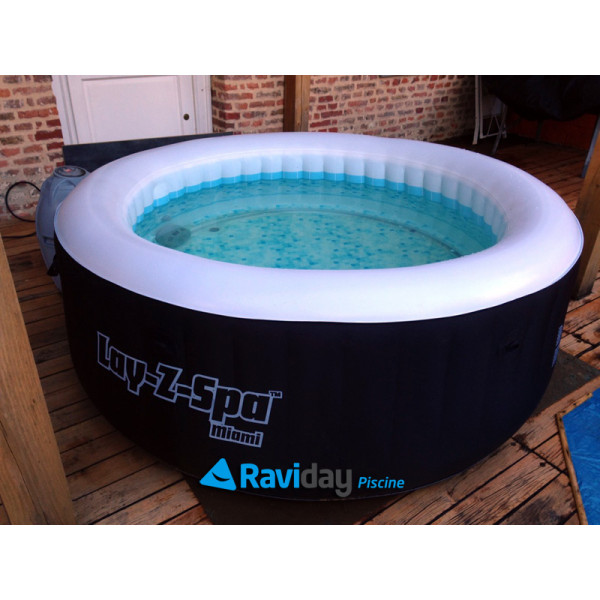 arriving arrives best deals on Spa gonflable Bestway Lay-Z-Spa Miami