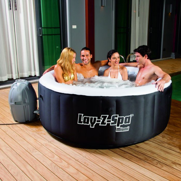 Spa Gonflable Bestway Lay Z Spa Miami