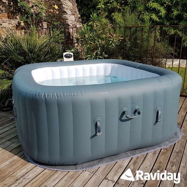 spa gonflable bestway hawaii hydrojet pro 4 6 places. Black Bedroom Furniture Sets. Home Design Ideas