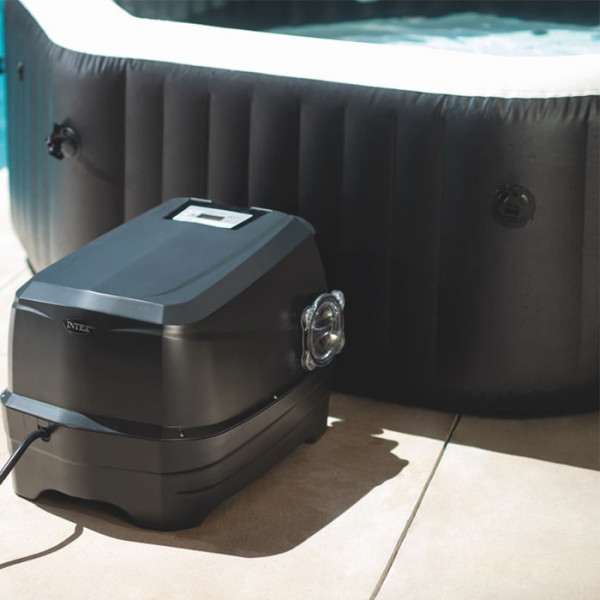 Bloc Spa gonflable Intex PureSpa Carbone 6 places