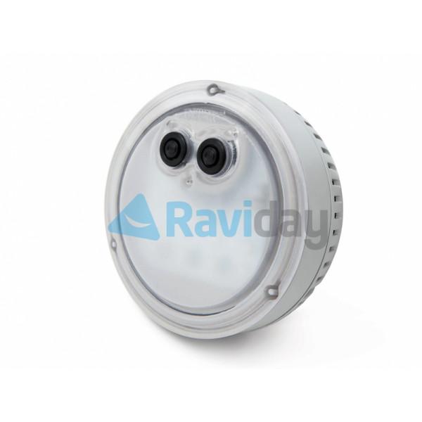 Spot lumineux sur Spa gonflable Intex Pure Spa Plus
