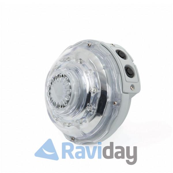 Spot lumière spa gonflable Intex Raviday vue profil