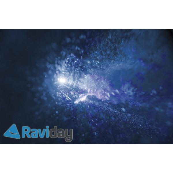 Spot lumineux ambiance pour Pure Spa Bulles Intex Raviday - lumière bleu