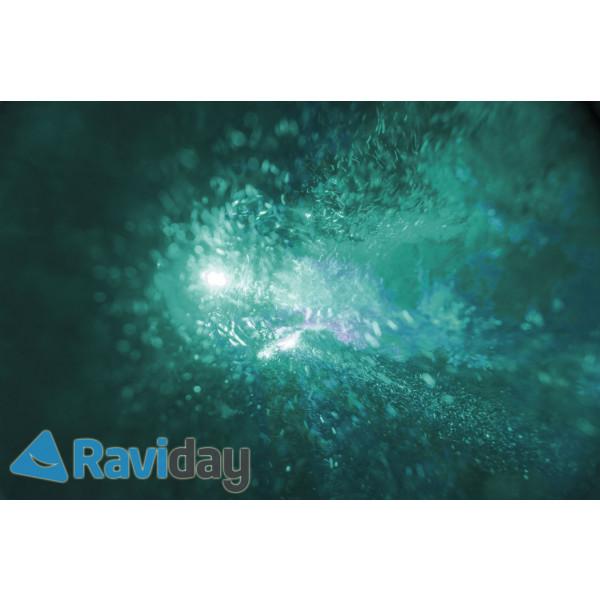 Spot lumineux ambiance pour Pure Spa Bulles Intex Raviday - lumière verte