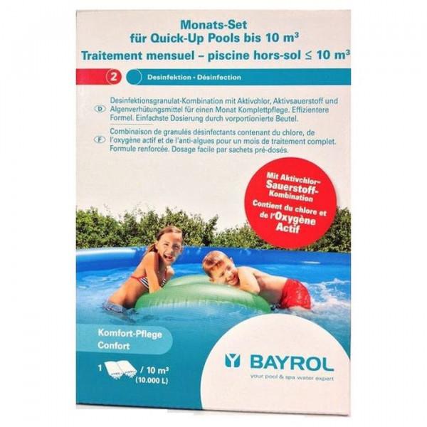 Kit de traitement de base à l'oxygène actif Bayrol pour bassin jusqu'à 10 m³