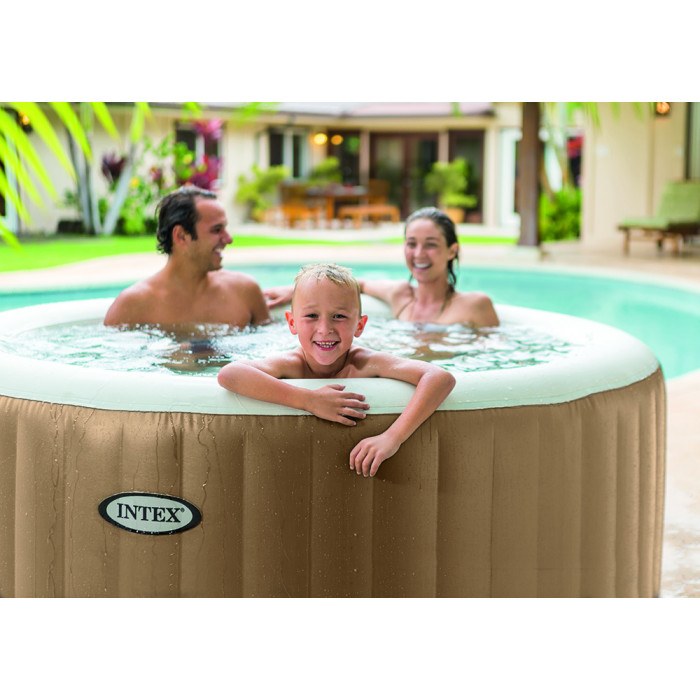 Spa Intex Gonflable Pure Spa Bulles 4 places