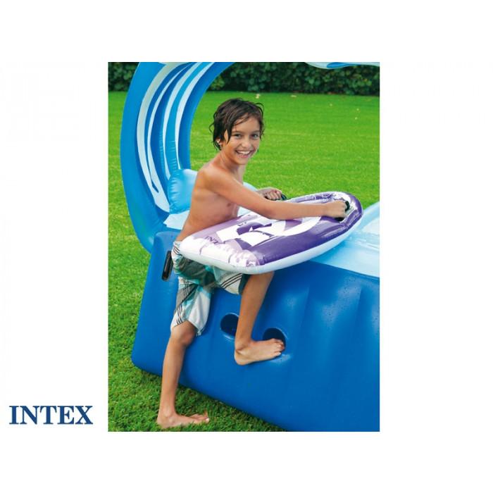 Air de jeu gonflable enfant INTEX Gliss party