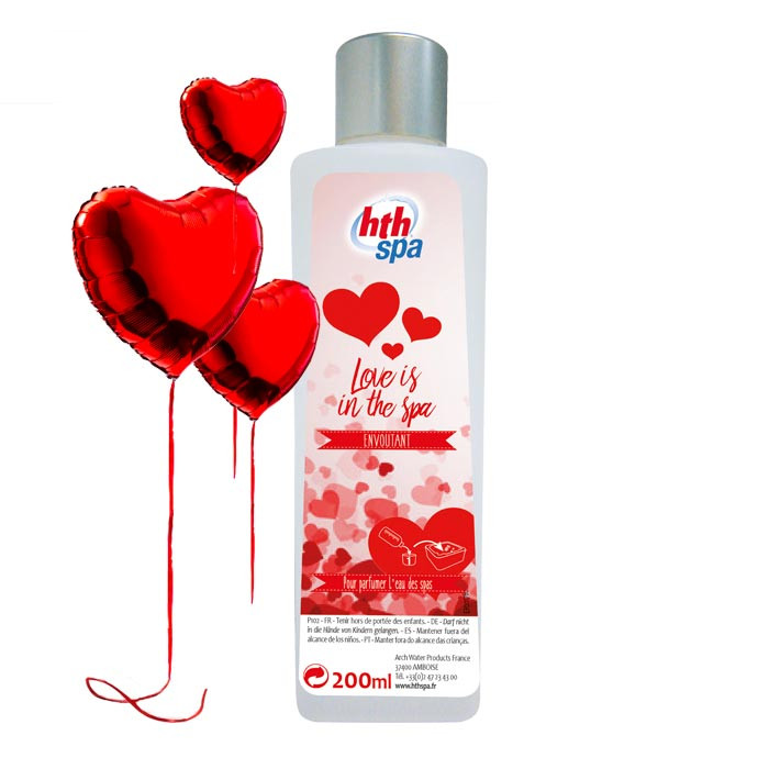 """Parfum """"Love is in the spa"""" pour Spa HTH 200 ml"""