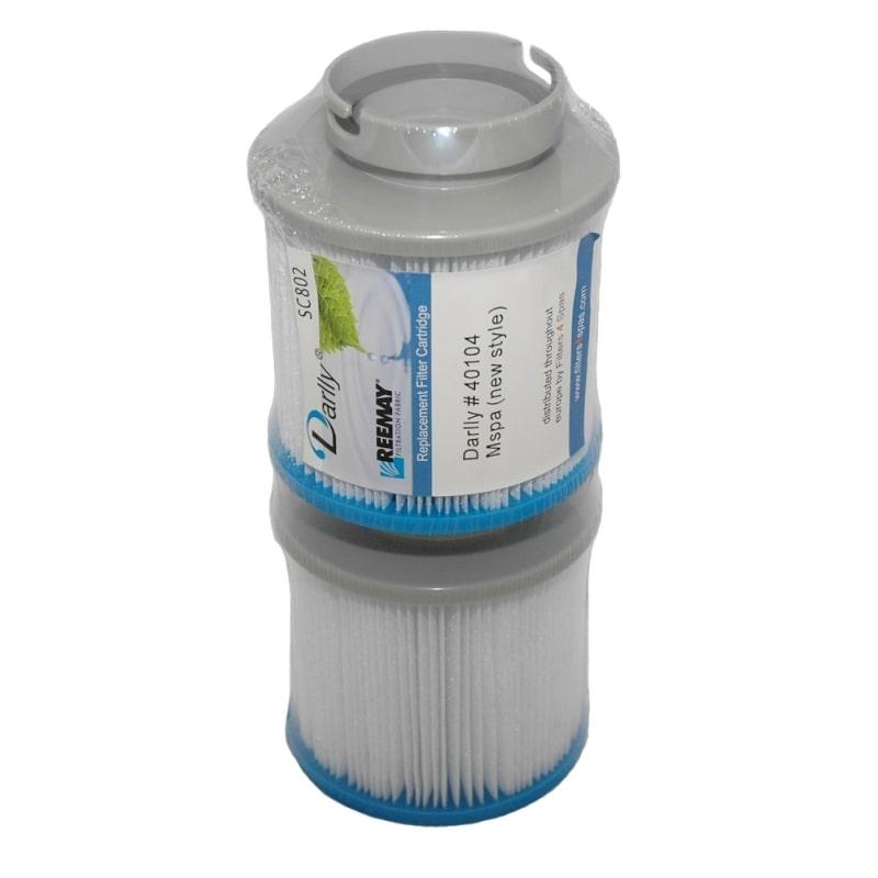 Filtre Mspa - Lot de 2 filtres pour spa gonflable Mspa