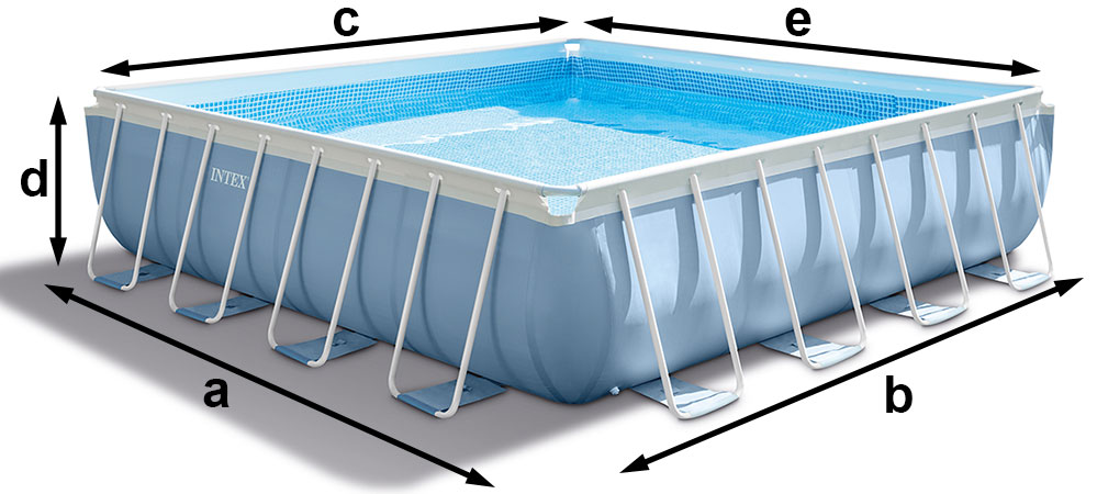 piscine tubulaire taille