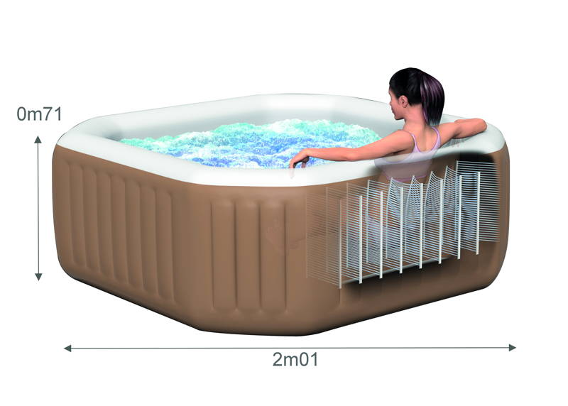 spa intex gonflable pure spa bulles 4 places moins cher chez raviday piscine. Black Bedroom Furniture Sets. Home Design Ideas
