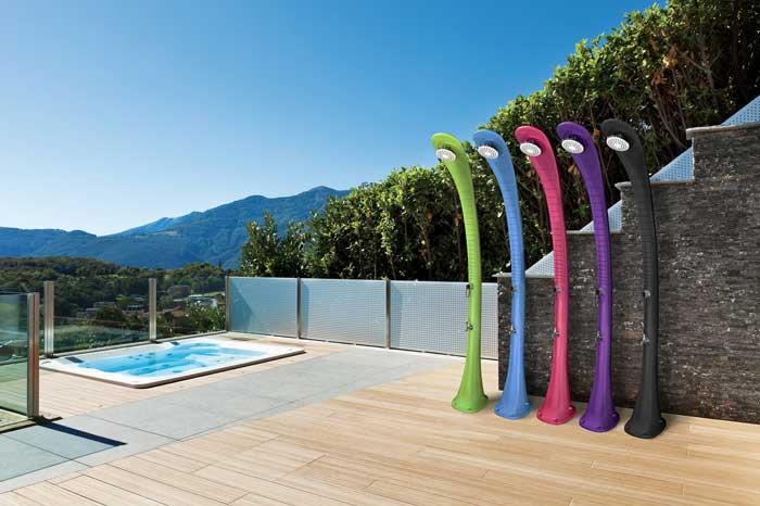 Douche solaire pour piscine Poolstar Formidra Cobra