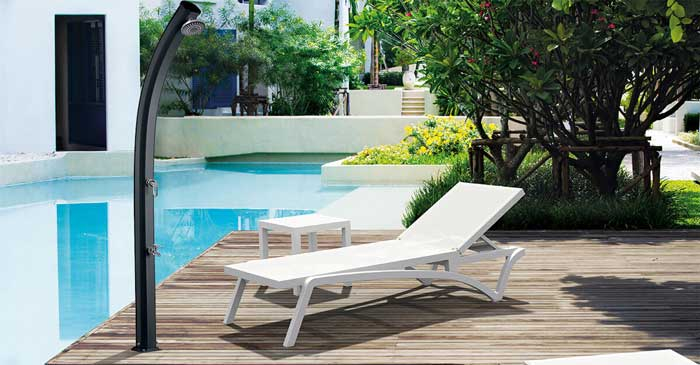 Douche solaire pour piscine Poolstar Formidra Jolly 33L