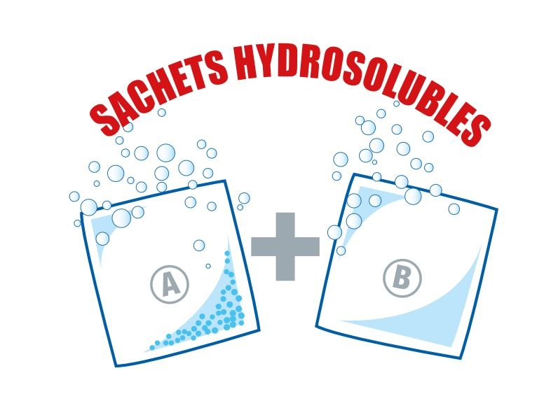 Sachets HTH Hydrosolubles