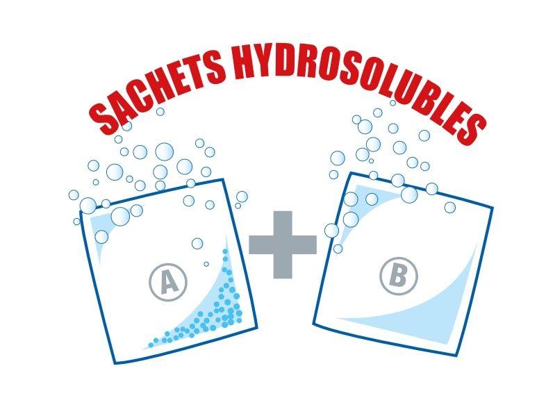 Sachets HTH Hydrosolubles