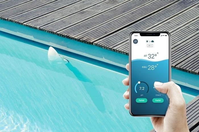 Flipr Start mise à l'eau piscine