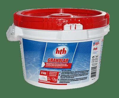 saut de 5kg de chlore Granular HTH