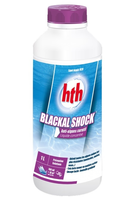 Anti algue hth Blackal Shock