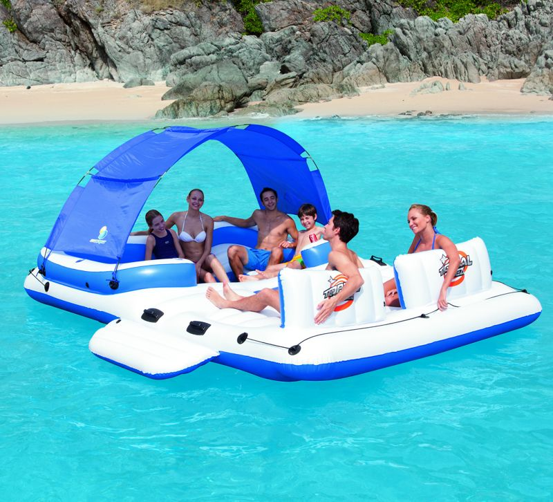 Ile gonflable bestway tropical breeze achat sur raviday for Piscines autoportees