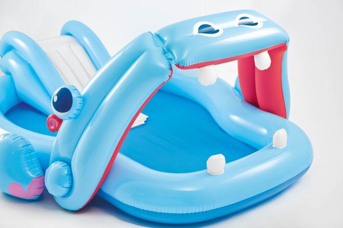 Aire de jeu gonflable hippo intex achat sur raviday piscine for Aire de jeu gonflable piscine