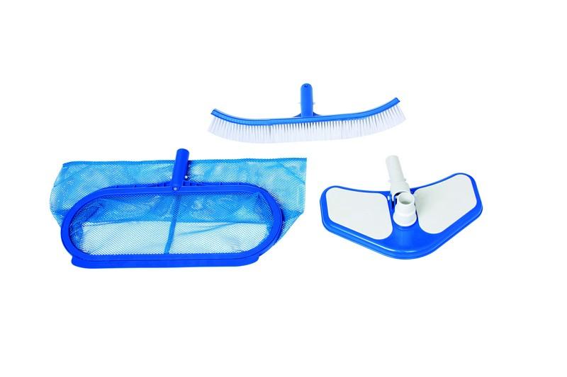 Kit de nettoyage pour piscine intex deluxe achat sur for Piscines autoportees