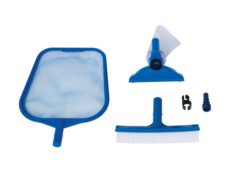 Kit accessoires de base pour entretien de piscine intex for Piscine et accessoires
