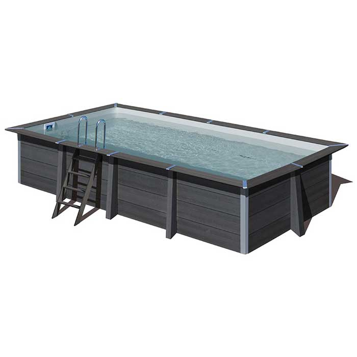 Piscine rectangle composite Gré 606 x 326 cm