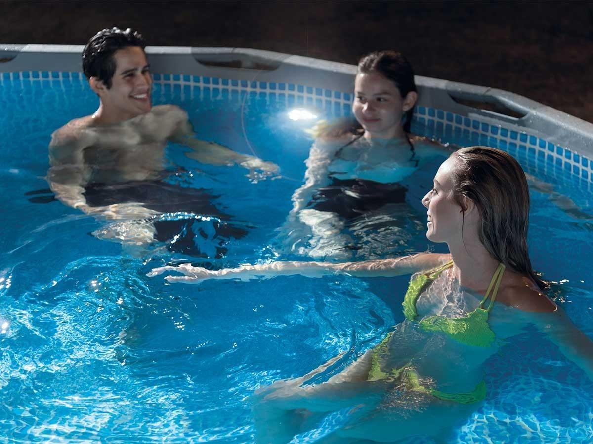 Eclairage Pour Piscine Tubulaire lampe pour piscine intex - connexion 38 mm